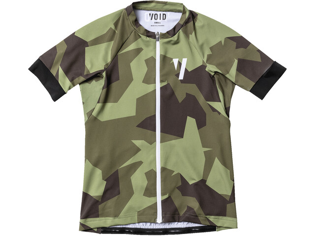 VOID Ride Jersey Korte Mouwen Dames, olive shield